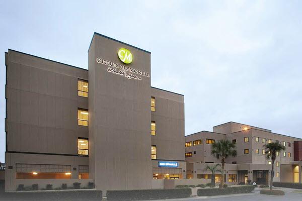 Citrus Memorial Hospital exterior shot